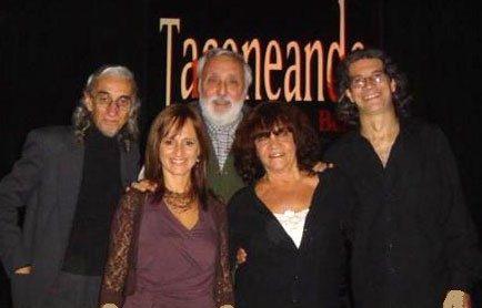 2006, El Tasso, con Victor Lavallen y Norberto Vogel